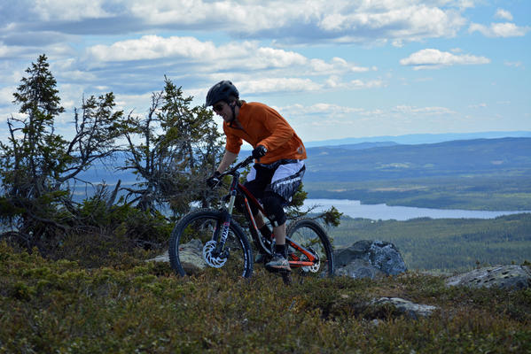 Sjusjøen mountain bike park